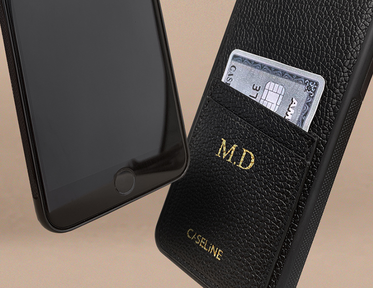 Zestaw Monogram Case BLACK